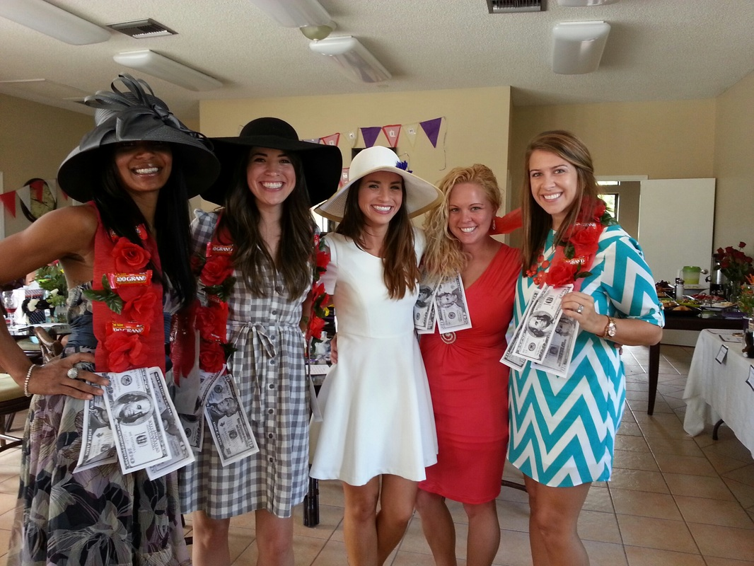 kentucky derby bridal shower games and prizes